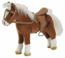 Gotz коричневая лошадь с седлом и уздечкой (3401099)