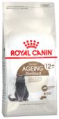Корм для стерилизованных пожилых кошек Royal Canin Ageing 12+ для профилактики МКБ