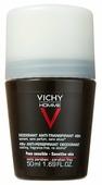 Дезодорант-антиперспирант ролик Vichy Homme для чувствительной кожи