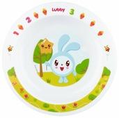 Тарелка Lubby на присоске Малышарики 400 мл (20916)
