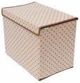 HOMSU Коробка для хранения вещей с крышкой 38х25х30 см