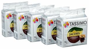 Набор кофе в капсулах Tassimo Americano (80 капс.)