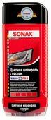 Воск для автомобиля SONAX цветной полироль с воском + карандаш Nano Pro (красный)