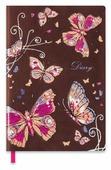 Ежедневник Феникс+ Бабочки недатированный, искусственная кожа, А5, 120 листов