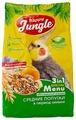 Happy Jungle Корм Special Menu для средних попугаев в период линьки