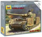 Сборная модель ZVEZDA Немецкий средний танк Т-4Н (6240) 1:100