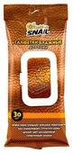 Golden Snail Салфетки влажные для кожи салона автомобиля GS 0401
