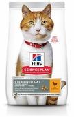 Корм для стерилизованных кошек Hill's Science Plan для профилактики МКБ, с курицей