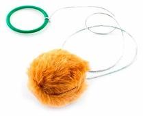 Дразнилка для кошек Дарэлл Шуршик с кольцом (2425)