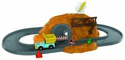 Трек Silverlit Robocar Poli Набор Пещера с камнями и металлической машинкой Дампи