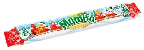 Жевательная конфета Mamba Новый год 106 г