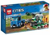 Конструктор Lepin Cities 02134 Транспортировщик для комбайнов