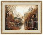 Золотое Руно Набор для вышивания Булгаковская осень 35,5 х 46,7 см (ГМ-037)