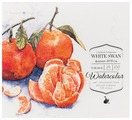 Альбом для акварели Малевичъ White Swan 19 х 17 см, 250 г/м², 20 л.