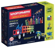 Магнитный конструктор Magformers Deluxe 710005 (63093) Miracle Brain Set