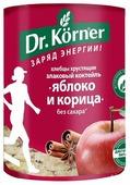 Хлебцы мультизлаковые Dr. Korner злаковый коктейль яблоко и корица 90 г