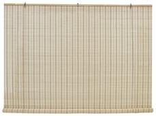 Рулонная штора Эскар бамбуковые (песок)