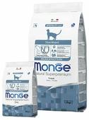 Корм для стерилизованных кошек Monge Natural Superpremium с форелью