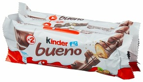 Батончик Kinder Bueno, 43 г, мультипак