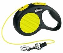 Поводок-рулетка для собак Flexi New Neon XS тросовый