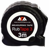 Рулетка ADA instruments RubTape 3 16 мм x 3 м