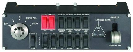 Панель Saitek Pro Flight Switch Panel