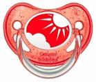 Пустышка силиконовая ортодонтическая Canpol Babies Nature 0-6 м (1 шт)