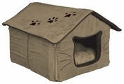 Лежак для кошек TRIXIE Hilla Cuddly Cave (36334) 35х30х40 см