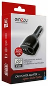 Автомобильная зарядка Ginzzu GA-4715UB
