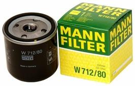 Масляный фильтр MANNFILTER W712/80