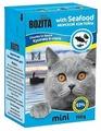 Корм для кошек Bozita MINI для здоровья кожи и шерсти, с морепродуктами 190 г