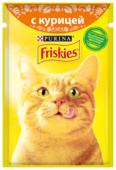 Корм для кошек Friskies с курицей 85 г (кусочки в соусе)
