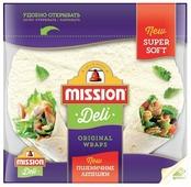 Mission Deli Лепешки пшеничные, бездрожжевые 333 г