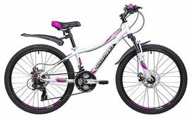 Подростковый горный (MTB) велосипед Novatrack Katrina 24 Disc (2019)