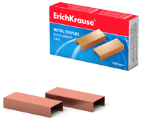 ErichKrause Скобы №24/6, 1000 штук
