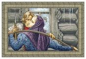 Золотое Руно Набор для вышивания У чужого окна 62 х 39 см (00-001)