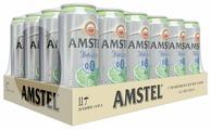 Amstel Пивной напиток безалкогольный осветлённый Амстел Natur Lime 0,45 л 24 шт
