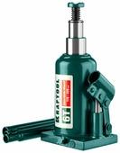 Домкрат бутылочный гидравлический Kraftool Double Ram 43463-6 (6 т)