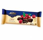 Шоколад Kalev темный с кусочками вишни