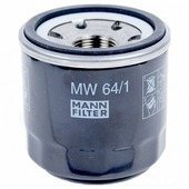 Масляный фильтр MANNFILTER MW64/1