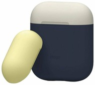Чехол Elago Silicone Duo Case для AirPods с двумя сменными крышками (EAPDO-IN-CWHYE) Синий