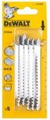 Набор пилок для лобзика DeWALT DT 2048 5 шт.
