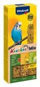 Лакомство для птиц Vitakraft Big Pack для волнистых попугаев Ананас, банан и киви