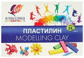 Пластилин Луч Классика 24 цвета (28С 1642-08)