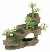 Грот TRIXIE Каменная лестница с растениями высота 19.5 см