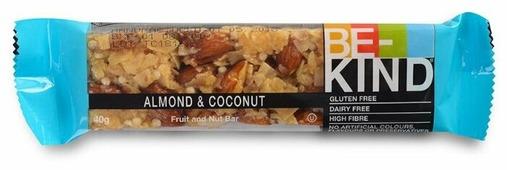 Батончик Be-Kind с миндалём, кокосом и мёдом 40 г