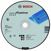 Диск отрезной 230x3x22.23 BOSCH Expert for Cast Iron 2608600546