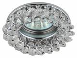 Встраиваемый светильник ЭРА DK16 CH/WH