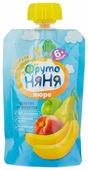 Пюре ФрутоНяня Салатик из фруктов (с 6 месяцев) 90 г, 1 шт