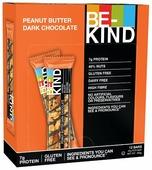 Ореховый батончик Be-Kind Peanut Butter Dark Chocolate, 12 шт